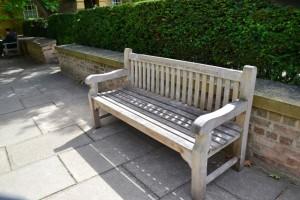 romantická lavička (pro milovníky vintage)