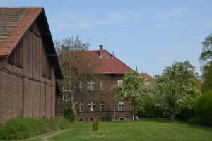 budovy terapeutické farmy