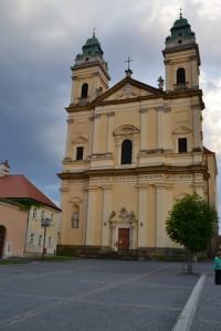 kostel Nanebevzetí Panny Marie ve Valticích