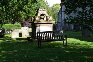 hřbitov u kostela  svatého Andrewa a svaté Marie