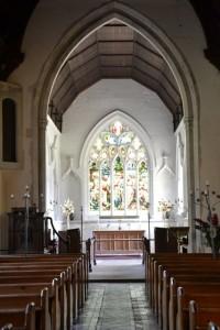 interier kostela svatého Andrewa a svaté Marie