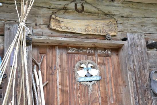 vchod do staré farmy