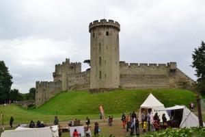 jedna z hradních věží