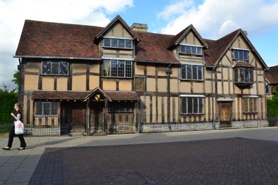 Shakespearovo rodiště ve Stratfordu