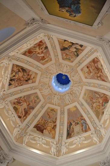 strop pražské kaple
