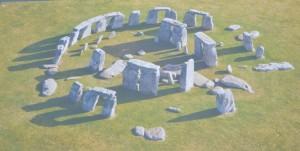 plánek Stonehenge