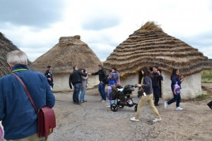 pravděpodobná obydlí stavitelů Stonehenge