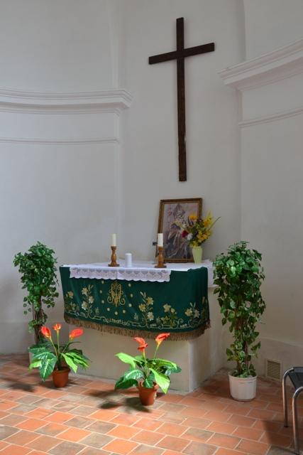 interier kaple sv.Wolfganga