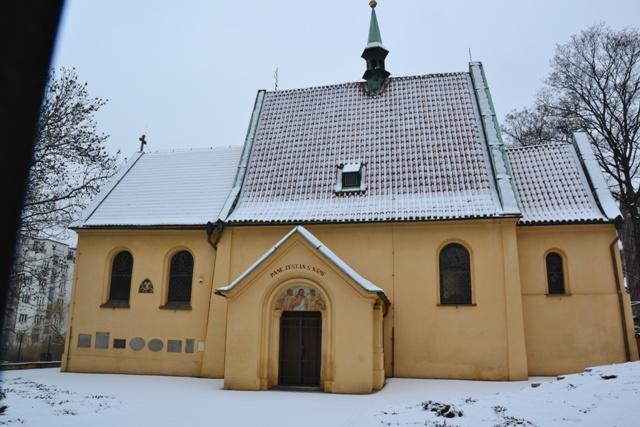 kostel sv.Michaela Archanděla v Podolí