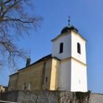 Kostel Narození Panny Marie ve Vysokém Újezdě u Netvořic.