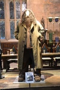 Kostým Hagrida ve skutečné velikosti.