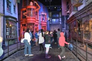 Obchod Weasleyových.