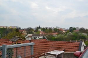 pohled na staré Bohnice