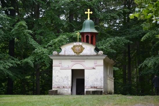 zděná kaple Božího horbu