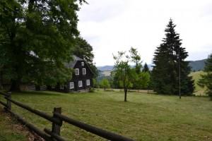 ranč na cestě na Tolštejn
