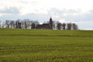 noutonický kostelík