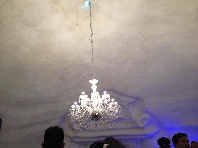 osvětlení v iglů
